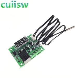 Image 3 - 10pcs W1209  50 100C DC 12V דיגיטלי טמפרטורת controllear בקרת טמפרטורת התרמוסטט מתג צלחת W1209