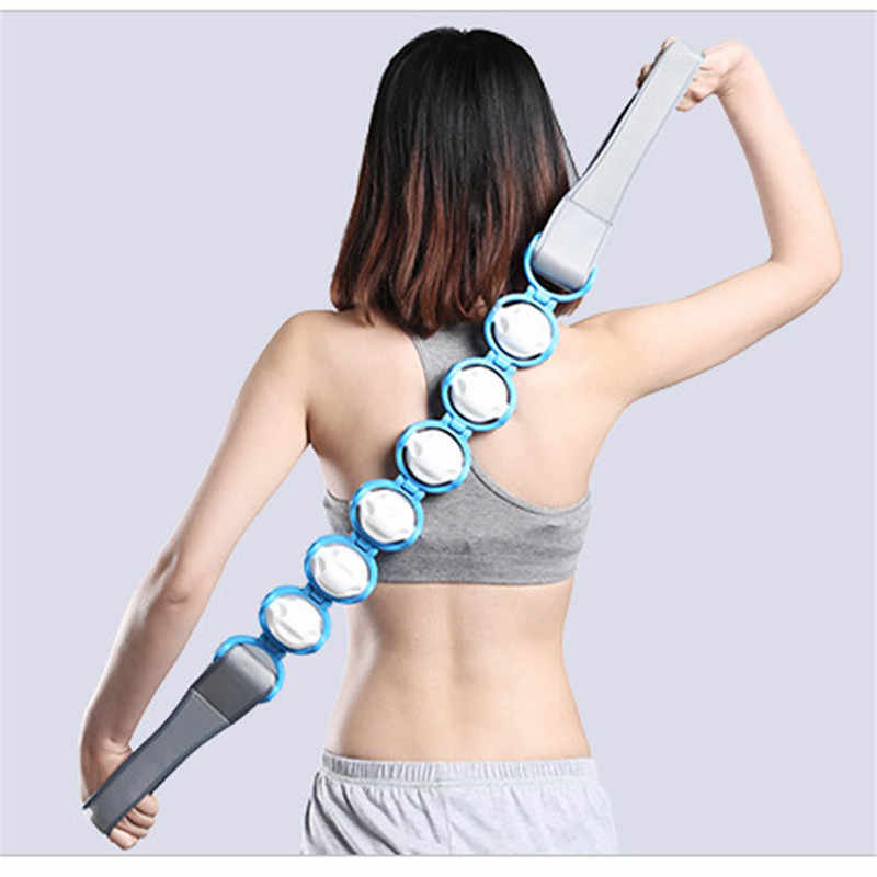 1Pcs 여러 가지 빛깔의 다기능 자극기 목 어깨 통증 완화 허리 뒤로 휴식 바디 스크럽