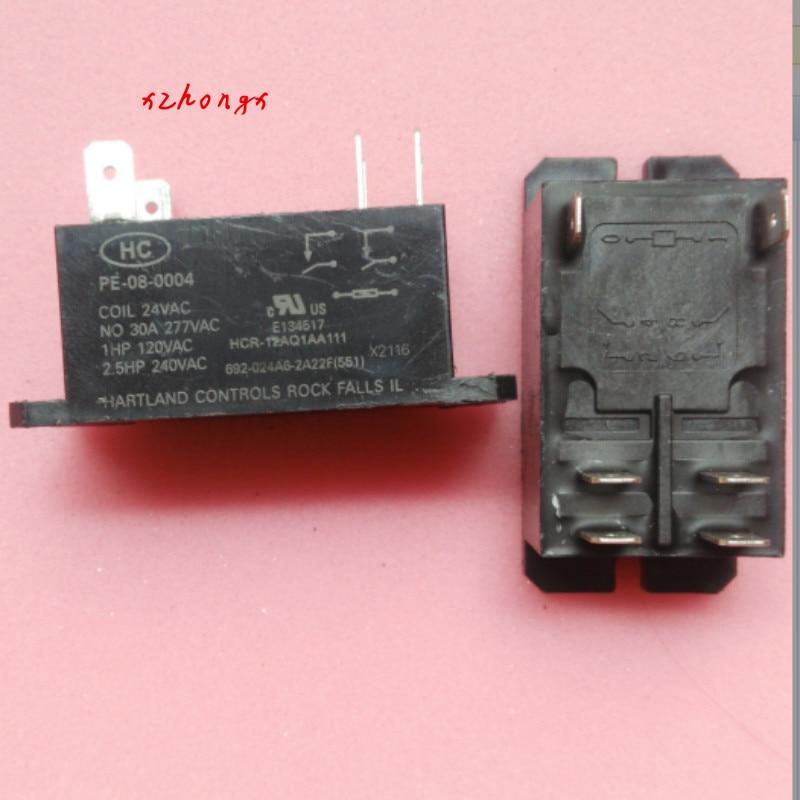 PE-08-0004 24VAC HC Relay PE-08-0004 24VAC