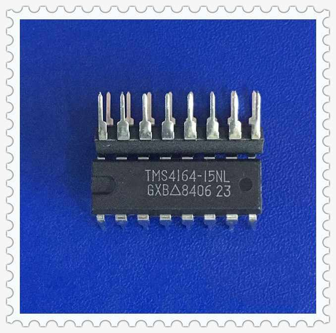 1 adet/grup TMS4164-15NL TMS4164-15 TMS4164 4164 DIP-16 stokta