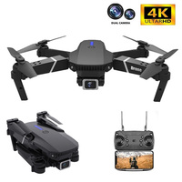 Dron E525 4k HD, cámara dual gran angular, 2021 P, WIFI, posicionamiento visual, altura, mantener rc Dron follow me rc quadcopter, juguetes, 1080
