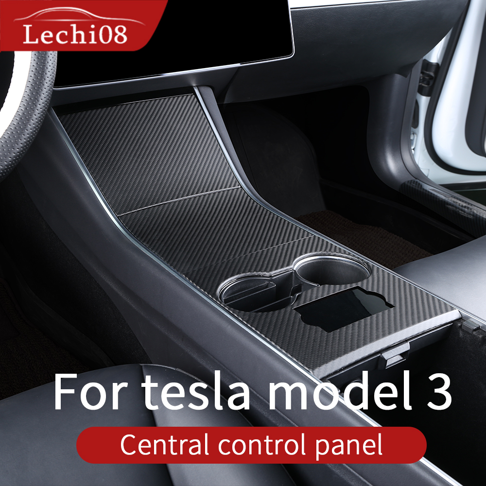 For Tesla Model 3 Accessories/car Tesla Model Y Tesla Center Console Model 3 Tesla Three Center Console Tesla Model 3 Carbon