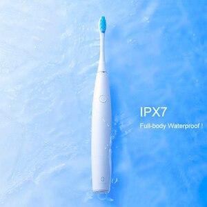 Image 5 - Oryginalny Oclean SE szczoteczka elektryczna z pudełko na podróż inteligentny Chip czyste wybielanie Oral zdrowe akumulator wysokiej jakości
