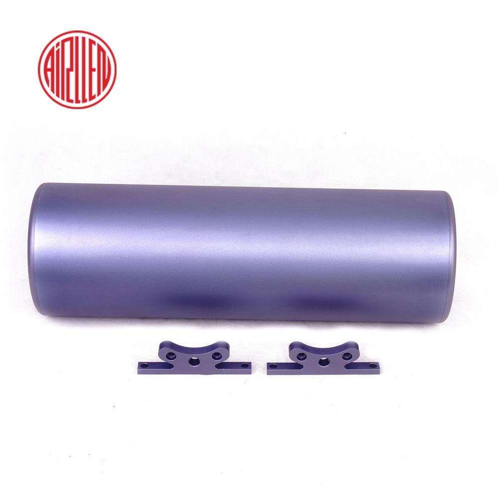 3 ガロン空気タンク/マルチカラーオプションシリンダー/アルミ貯蔵タンク/車エアサスペンションパーツ/ トラックホーン部品/ガスシリンダー