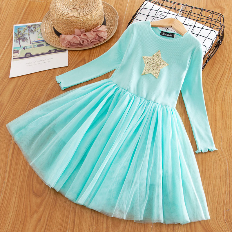 H5ec16ce796c54834a9a9f8cd0ed558a3I Red Kids Dresses For Girls Flower Lace Tulle Dress Wedding Little Girl Ceremony Party Birthday Dress Children Autumn Clothing