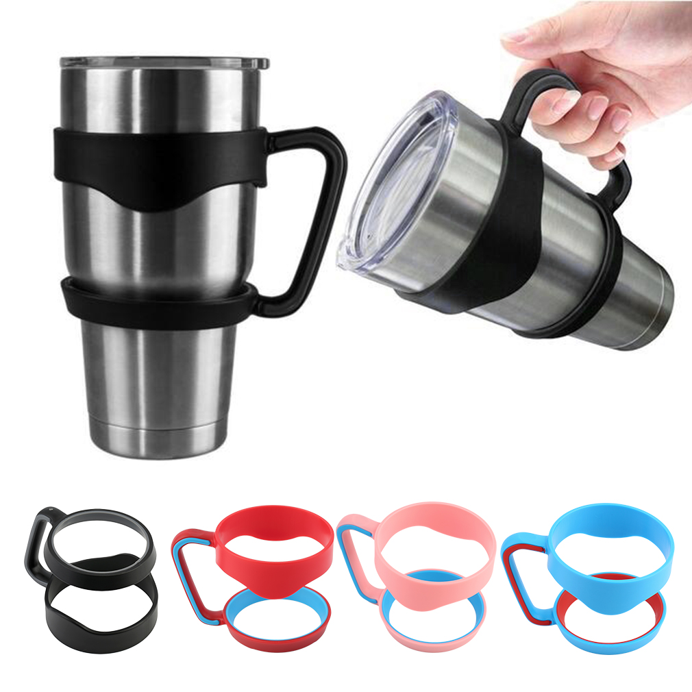 Portable Handle For 20 Oz Cup Tumbler Coffee Mug Travel Drinkware Hand Holder For Car Vacuum Insulated Cup 4 Colors