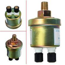 1/8NPT Car Oil Pressure Probe Double Head Sensor Induction Plug Accessories