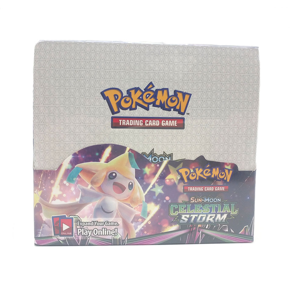 Pokemon 324PCS GX EX MEGA Cover Card 3D Version Celestial Storm Card Collectible Gift Kids Toy