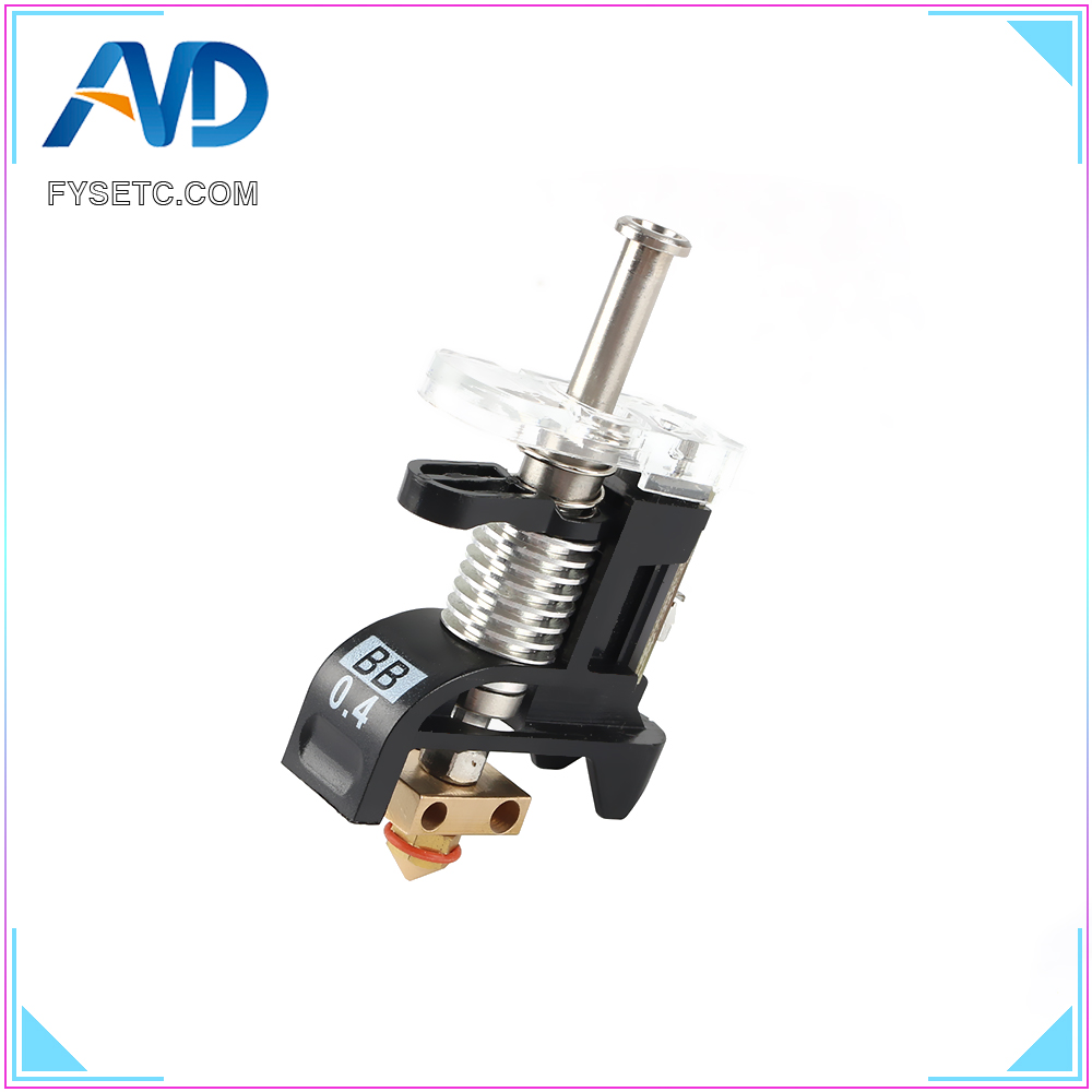 Ultimaker3 PrintCore Kit NO.UM3_9428_AS UM3 3D Printer Replacement Print Core AA/BB Hotend Kit For Ultimaker 3 Spare Parts