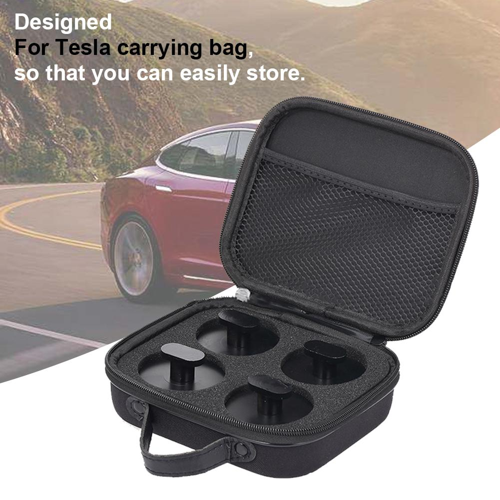 For Tesla 3 Chassis Car Jack Protective Jacket Pad Handbag EVA Boutique Storage Bag / Carrying Case