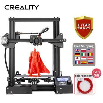 W całości z metalu CREALITY 3D Ender-3 Ender-3X Ender-3 Pro drukarki z magia budować płyta uaktualnić wizji V-gniazdo 3D drukarki tanie i dobre opinie Normal 80mm s Limit 200mm s 0 05-0 4mm Standard 0 4mm(can be changed to 0 3 0 2mm) PROE Solid-works UG 3d Max Rhino 3D design