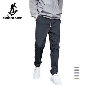 Pioneer Camp 2020 Summer Autumn New Casual Pants Men Cotton Slim Fit Fashion Trousers Male Brand Clothing for man AXX901001