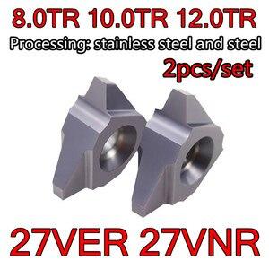 Image 1 - 27VER 8TR 10TR 12TR 27VNR 8TR 10TR 12TR Carbide Ren T Lắp Chế Biến: Thép Không Gỉ, Thép Hợp Kim V. V...