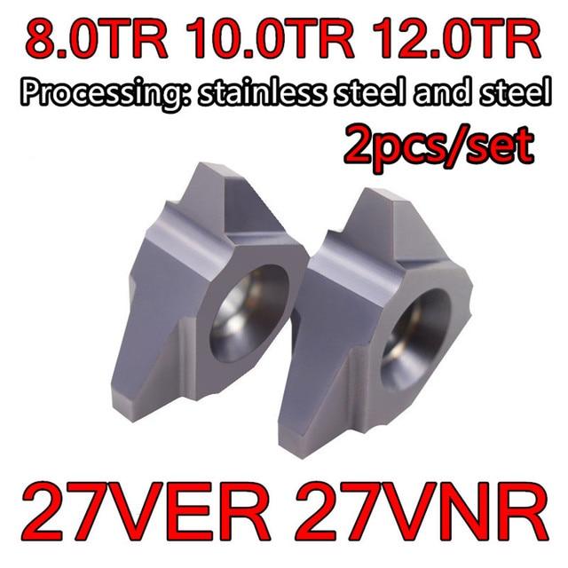 27VER 8TR 10TR 12TR 27VNR 8TR 10TR 12TR مثقاب من الكربيد T إدراج المعالجة: الفولاذ المقاوم للصدأ ، سبائك الصلب ، الخ