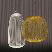 Modern Pendant Lamp Replica Foscarini Spokes 1/2 Pendant lights LED Cage hanging lamp Kitchen Light Fixture Dining Room lighting