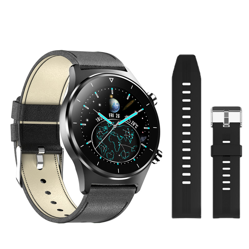 H5ec2e7b370e44ee6a598e6978e4486c1Z E1-3 Smart Watch Men 1.28 inch Full Touch Screen IP68 Waterproof Bluetooth 5.0 Sports Fitness Tracker Smartwatch For Android IOS