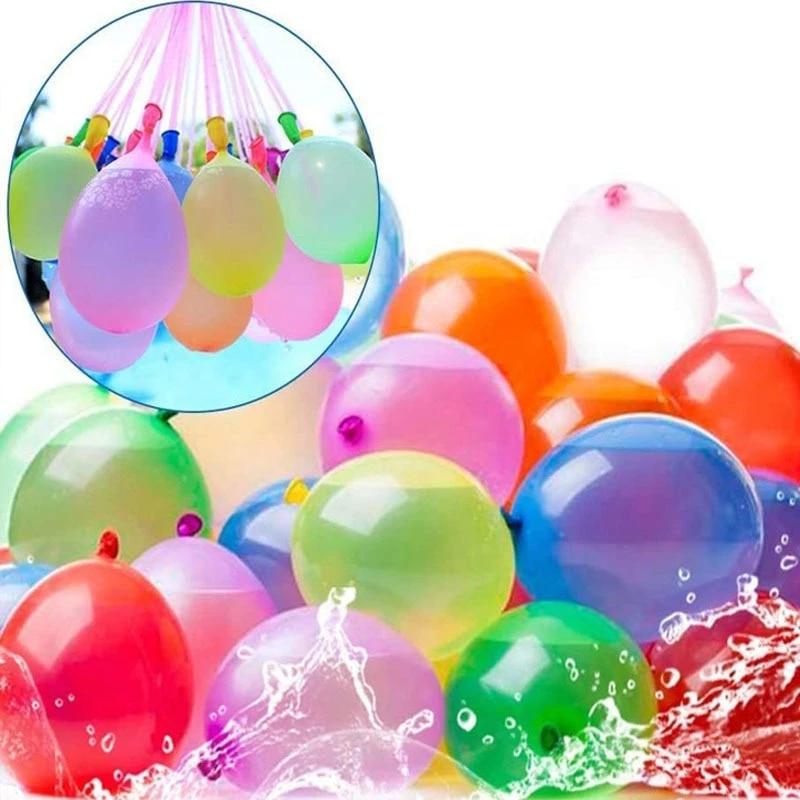 222 Water Bombs Balloon Amazing Filling Magic Bunch Balloon Children Water War Game Supplies Kids Summer Outdoor Beach Toy Party
