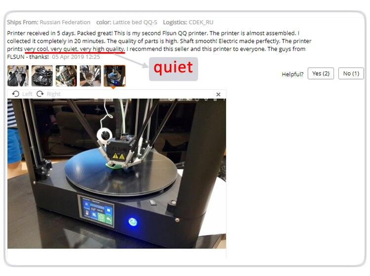 3d printer 6 quiet