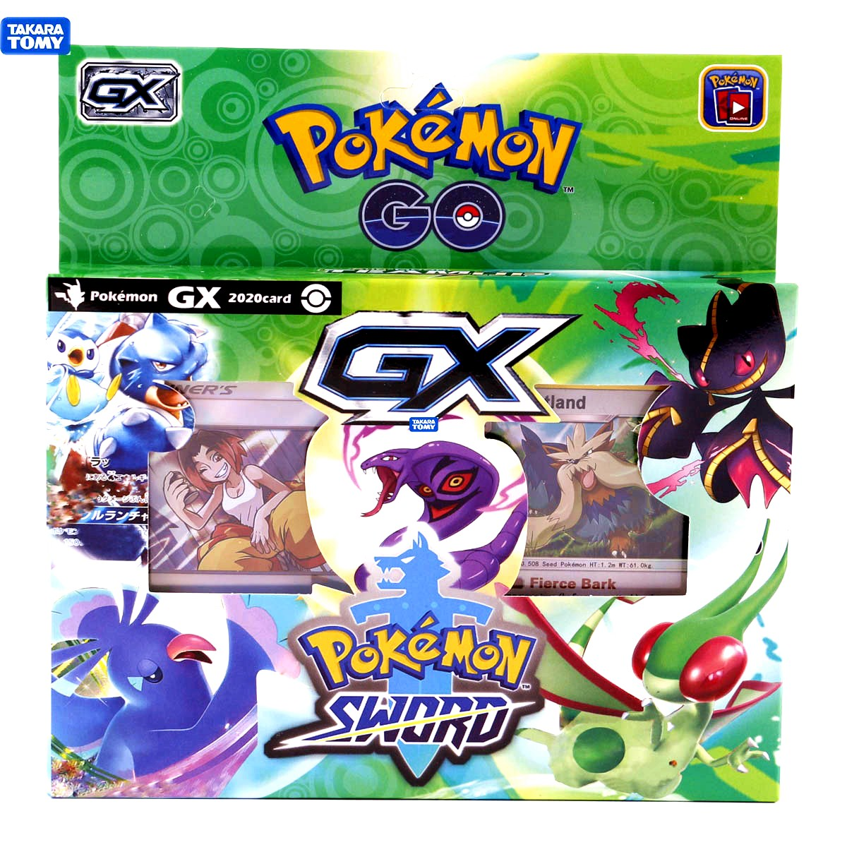 TOMY Pokemon 2020 Latest 54 Cards Pokemon Card  Sword & Shield Box Trading Card Game Kids Collection Toys