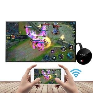 Image 4 - 2.4G/ 5G 4K اللاسلكية واي فاي النسخ المتطابق كابل HDMI محول 1080P عرض دونغل آيفون سامسونج شاومي هواوي أندرويد الهاتف إلى التلفزيون