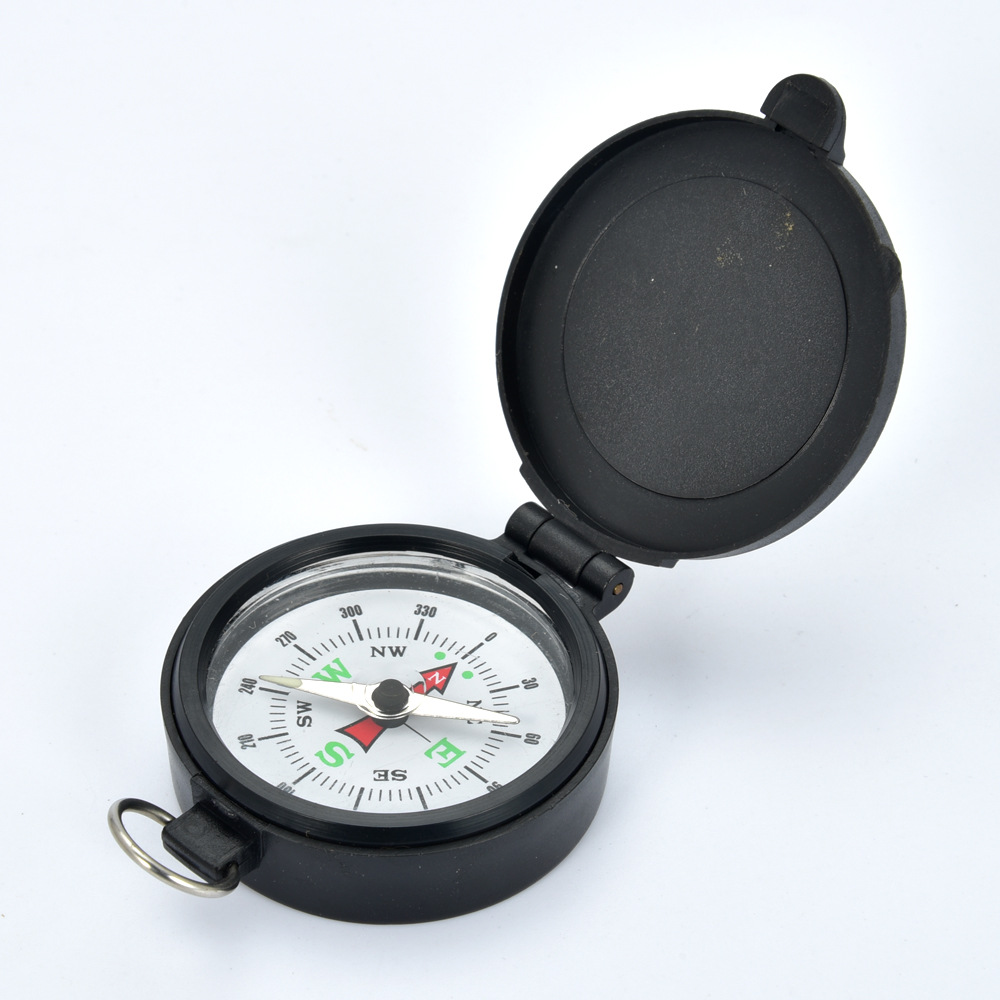 1Pcs Compass Military Camping Hiking Army Style Survival Marching Pointing Guider Compass
