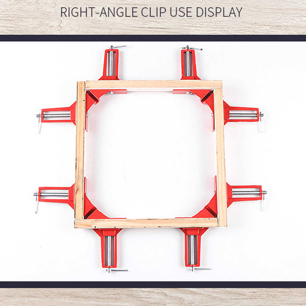 1pcs 90 Degree Right Angle Clamp DIY Corner Clamps Quick Fixed Fish Tank Glass Wood Picture Frame Woodwork Corner Clamp
