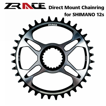 ZRACE 12s Chainrings 32T/34T/36T/38T 7075AL for SHIMANO Direct Mount Crank,FC-M9100 FC-M8100 FC-M7100,SM-CRM95 SM-CRM85 SM-CRM75