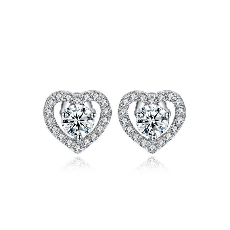 32 Styles Trendy Stud Earrings Original 925 Sterling Silver AAAAA cz Party Wedding Earrings For Women Bridal Engagement Jewelry