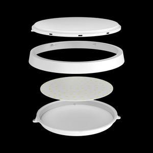 Image 3 - Светодиодный потолочный светильник OPPLE IP44, акрилосветильник круглая лампа для кухни, ванной, балкона, коридора, поликарбоната, 6 Вт, 12 Вт