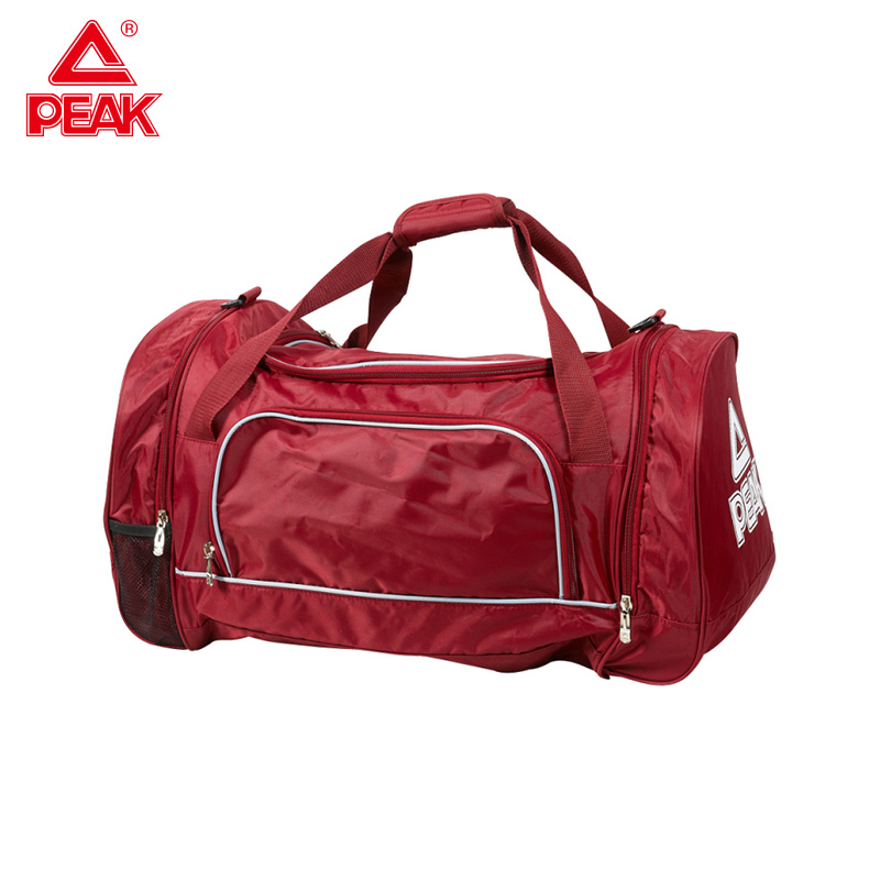 Peak Gym Bag Sport Men and Women Outdoor Multi use Handbag Canvas Fitness Bags for Women 2019 Lager Capacity BW30220 in Running Bags from Sports Entertainment
