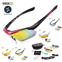 Hot Sale Polarized Sports Men Sunglasses Road Cycling Glasse