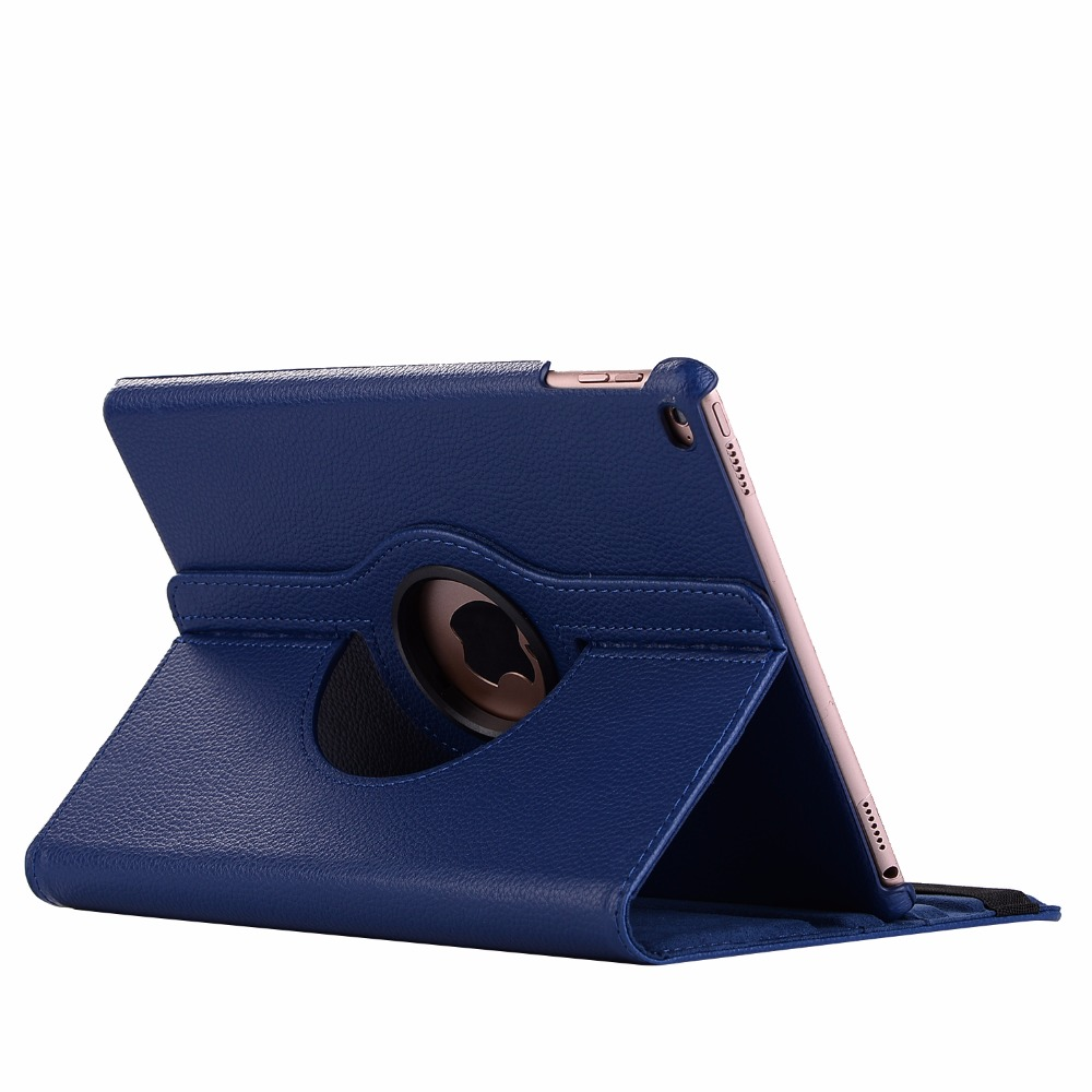 dark blue Pink 360 Degree Rotating PU Leather Flip Cover Case For iPad 10 2 2020 2019 8th 7th