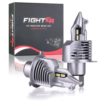 KAFOLEE H4 9003 HB2 LED headlight bulbs 12V 24V 80W 16000LM diode lamps LED H4 for cars high beam dipped beam auto grade chips