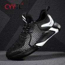 Мужские кроссовки для бега cyytl дышащие с дышащей сеткой легкие