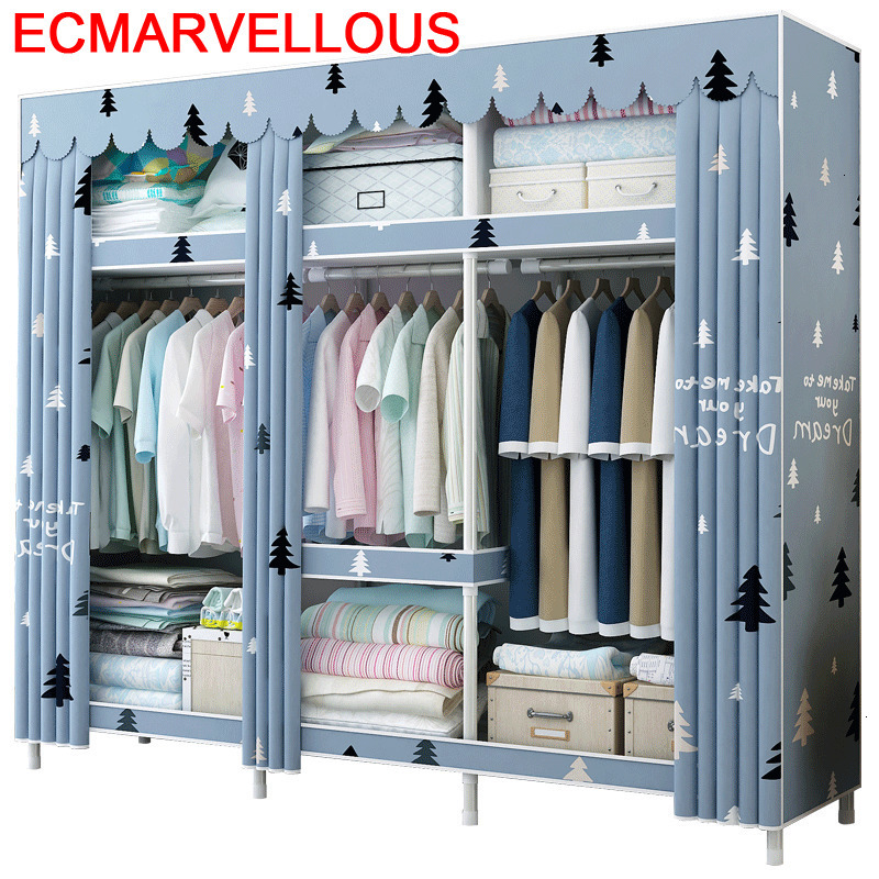 Moveis Para Casa Dressing Penderie Chambre Rangement Armario Guarda Roupa font b Closet b font Cabinet