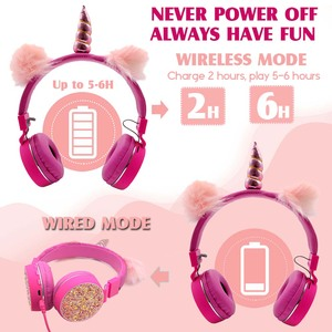 Image 3 - JINSERTA חדי קרן אוזניות סטריאו Bluetooth אוזניות FM רדיו עם מיקרופון תמיכה דיבורית TF כרטיס AUX