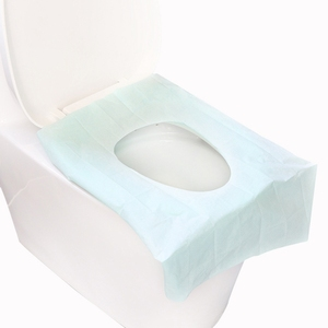 Tiolet Seat Cover Disposable Tiolet Seat Covers Comfortable Waterproof Bathrooms Seat Covers for Home Shopping Mall Hotel Travel(China)