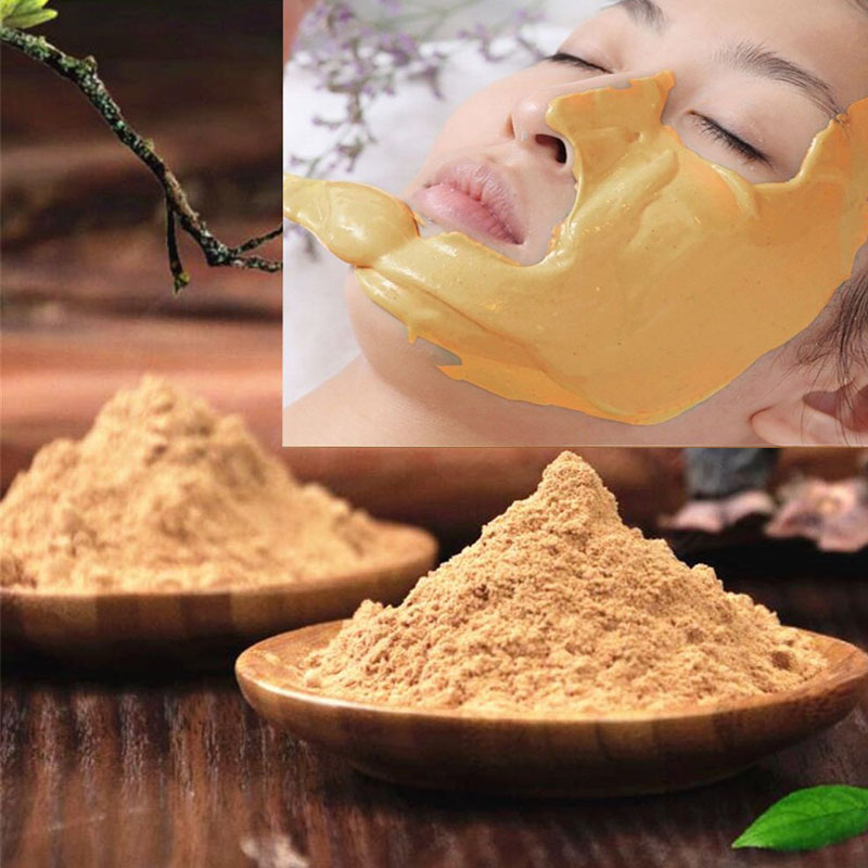 24K GOLD Active Face Mask Powder Brightening Luxury Spa Anti Aging Wrinkle Treatment Facial Mask