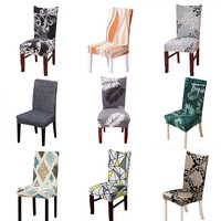Cadeira elástica estiramento cobre elastano para casamento sala de jantar escritório banquete housse de chaise cadeira capa sala estar