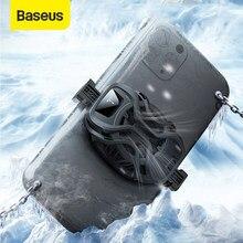 Refrigerador portátil ajustável do telefone do jogo universal do radiador do telefone de baseus ga06 dissipador de calor do suporte para telefones largos de 67mm-88mm
