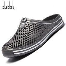 Confortable hommes piscine sandales été en plein air plage chaussures hommes sans lacet jardin sabots décontracté eau douche pantoufles unisexe Zapatos