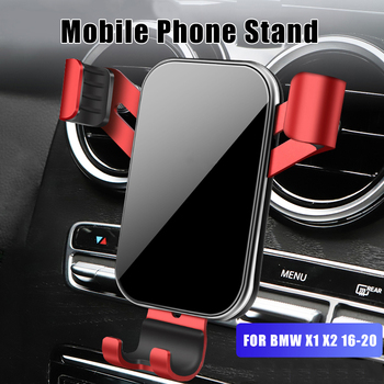 Car Mobile Phone Holder For BMW X1 X2 F39 F48 2016 2017 2018 2019 2020 GPS Navigation High Quality Support Smartphone Bracket image