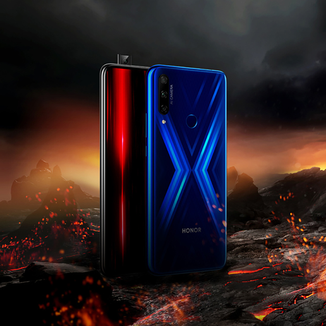 Global Version Honor 9X Smartphone 4GB 128GB 48MP Triples Camera 6.59'' Mobile Phone Android 9 Google Play 4000mAh Cell Phones
