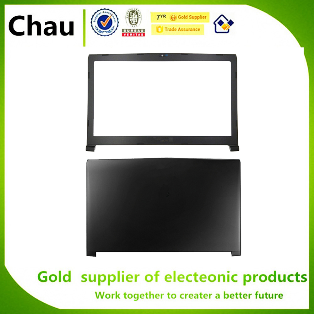 New For MSI GP72 GL72 6QC 6QD 6QF 7QFMS-1793 LCD Back Cover Black 307-793A211-P89/LCD Front Bezel Cover