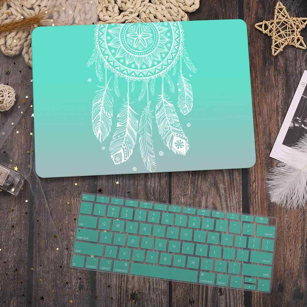 New Marble Case for MacBook Air Pro Retina 11 12 13.3 New for MAC Book 13 15 Touch Bar//Touch ID 2019 2020 A1932 A2179+Keyboard Cover-M345-Model A1398