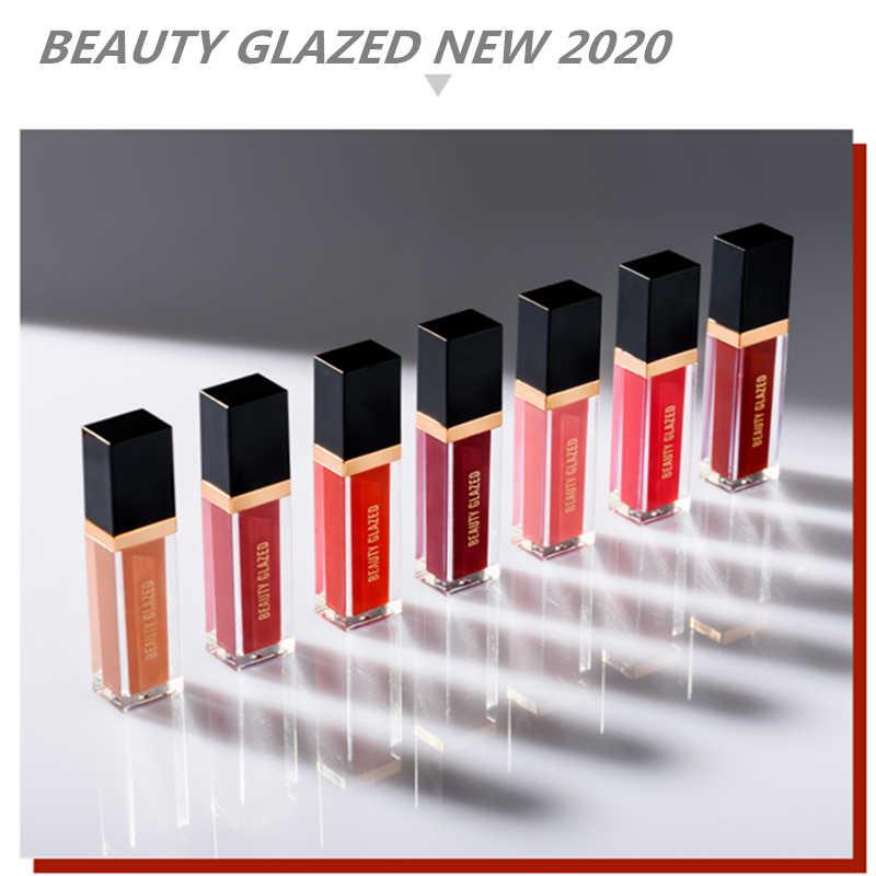 Güzellik sırlı 24 renkler mat sıvı ruj su geçirmez nemlendirici pürüzsüz dudak sopa uzun ömürlü dudak tonu kozmetik dudak makyaj