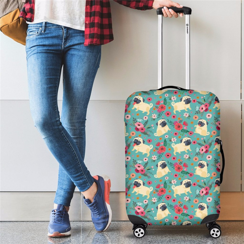 Twoheartsgirl capa de bagagem fórmula matemática elástica