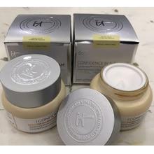 6pcs/lot IT Cosmetics Confidence In A Cream Moisturizer Hydrating Transforming Moisturizing Face Cream Full Size CC BB Cream