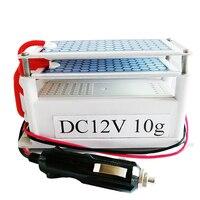 오존 발생기 12v 10g Ozonizer 공기 청정기 자동차 정수기 오존 세라믹 플레이트 공기 살균기 필터