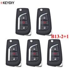 5 TEILE/LOS, KEYDIY B13 2 + 1 KD900/URG200 KD X2 Schlüssel Programmierer B Serie KD MINI Fernbedienung